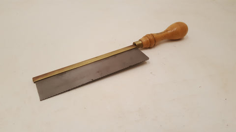 "7"" Footprint Brass Back Gents Saw w 15 1/2 TPI 36395"