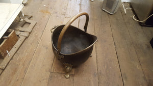 Beautiful Vintage Coal Scuttle 36654