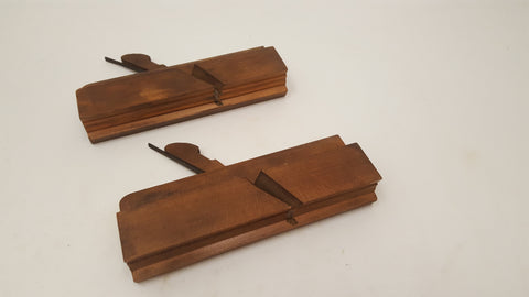 Pair of Vintage John Moseley Moulding Planes #1 & #2 36581