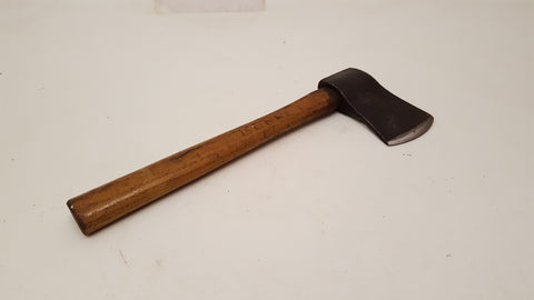 Small Vintage Hatchet w Very Sharp Wedge Style Head 37587