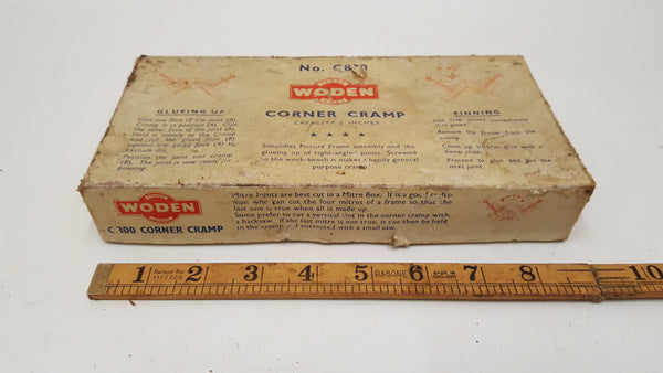 Vintage Boxed Woden No C800 Corner Clamp 37865