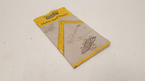 Stanley Metric Steel Square How to Use Guide 38090