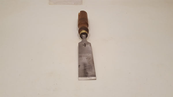 "1 1/4"" Vintage C Johnson Firmer Chisel V Sharp 38244"