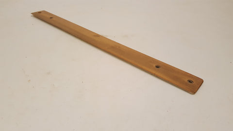 "18"" Vintage Allbrit Wooden Rule 32nds & 50ths 38399"