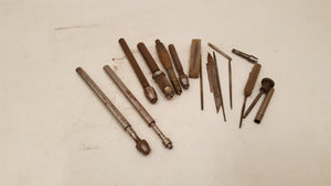 Mixed Job Lot of Lovely Vintage Pin Vices 38436