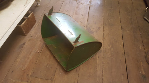 "Vintage 15"" x 9 1/2"" Push Mower Grass Box 38712"
