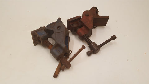Two Mixed Sash Clamp Heads Record No 130 & Rededa 38740
