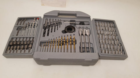 Drill Bit & Driver Bit Set Very Good Condition 38805