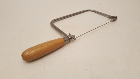 "Vintage Coping Saw w 7 3/4"" Blade 38873"