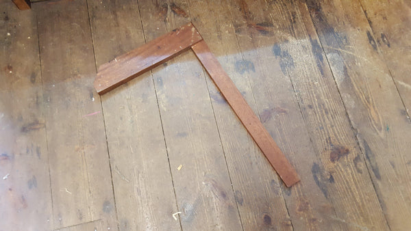 "Wooden 21"" Square 10566-The Vintage Tool Shop"