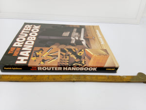 The New Router Handbook by Patrick Spielman Good Condition 14308-The Vintage Tool Shop