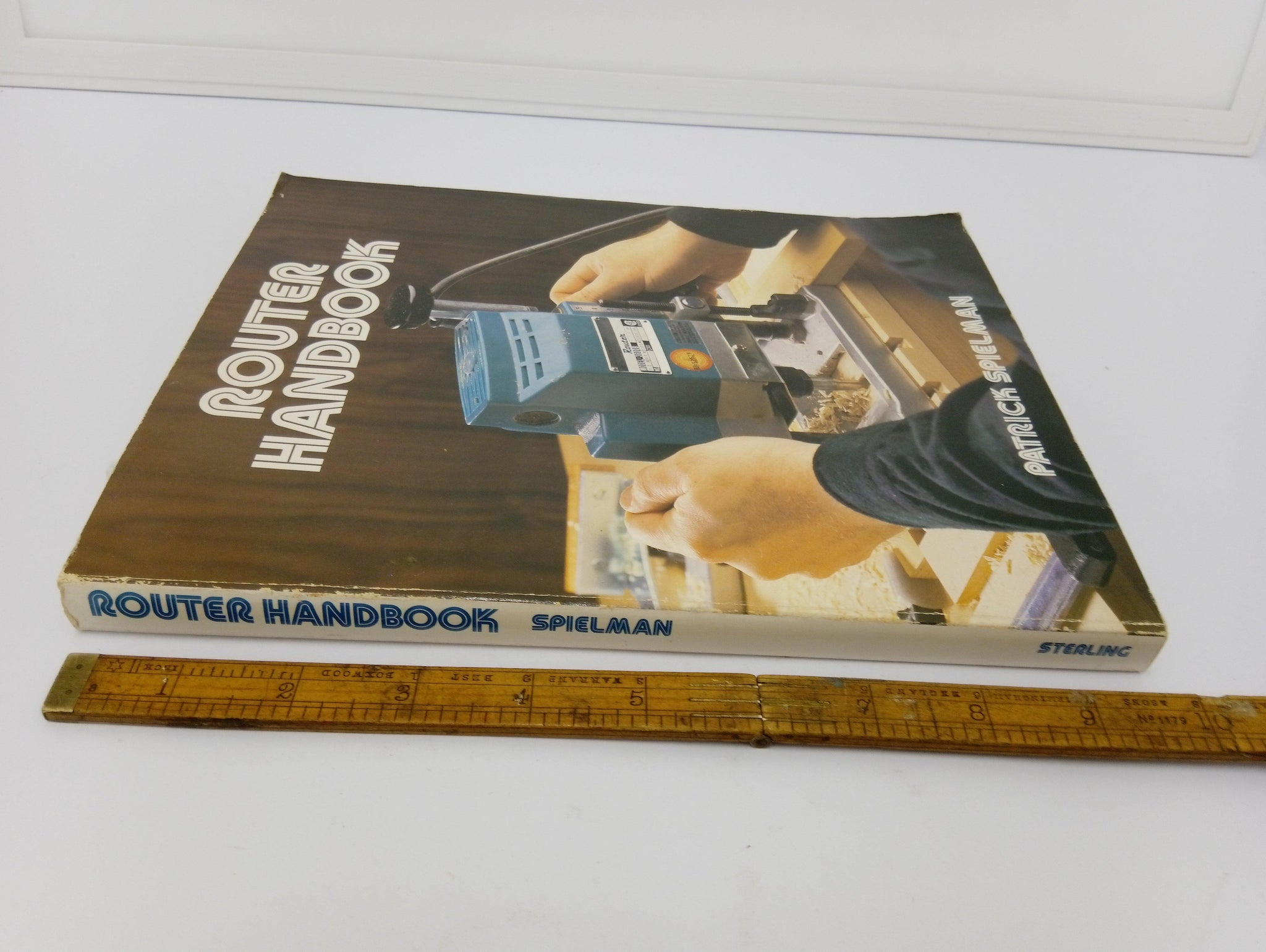The Router Handbook by Patrick Spielman Good Condition 14307-The Vintage Tool Shop