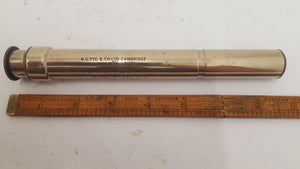 W G Pye & Co Cambridge Stress Fracture Inspection Tool With Spare Lense 14816-The Vintage Tool Shop