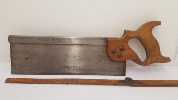 "Unnamed 12"" Saw 13TPI 14837-The Vintage Tool Shop"