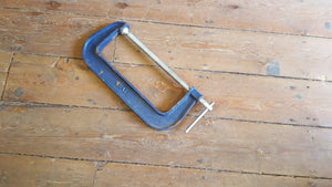 "Extra Large Whale G Clamp 12 1/2"" Troat VGC 14807-The Vintage Tool Shop"