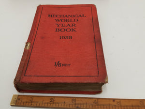 Vintage Mechanical World Year Book 1938 Book 22822