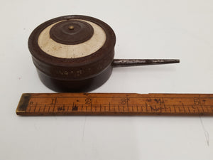 "Unusual 1 1/2"" Vintage Powder Puffer 23121"