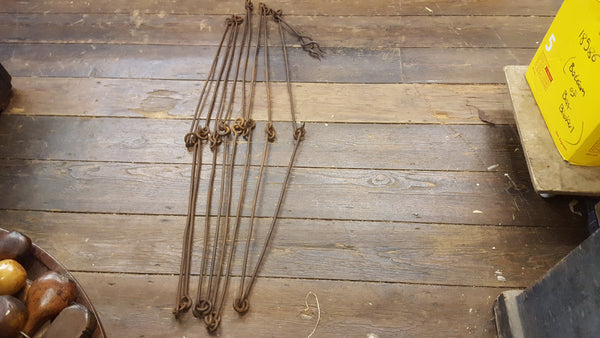 Vintage 32ft Land Chain w Ornate Spike 23510