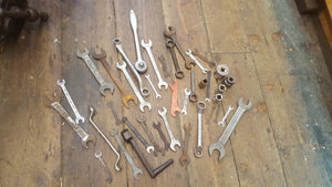 Job lot of Various Spanners 23774