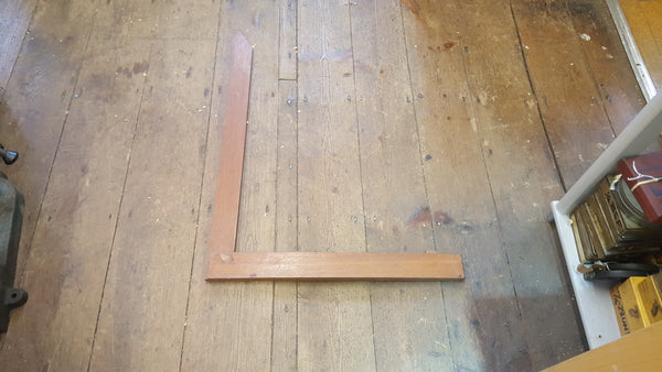 "Large 24"" Fixed Wooden Try Square 25850"