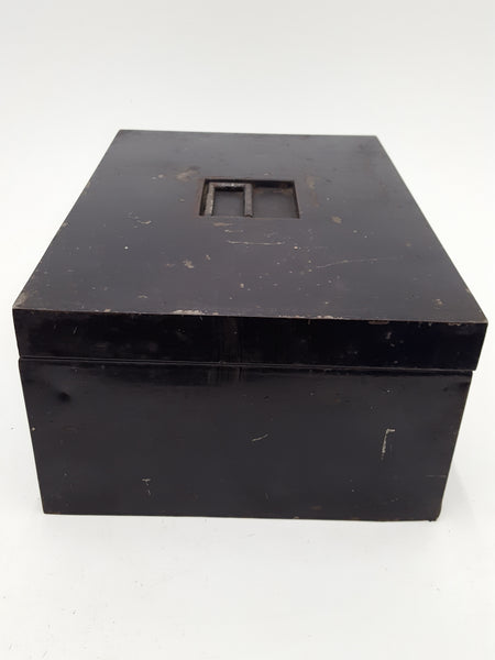 "2 Lever Lock 14 x 10 x 6"" Metal Lock Box 27603"