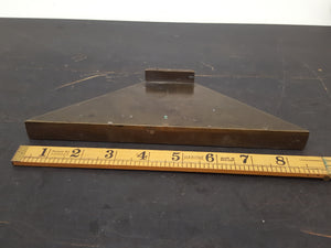 "Amazing Usermade Brass Mitre Square Jig 8 1/2"" & 1 7/8"" 28040"