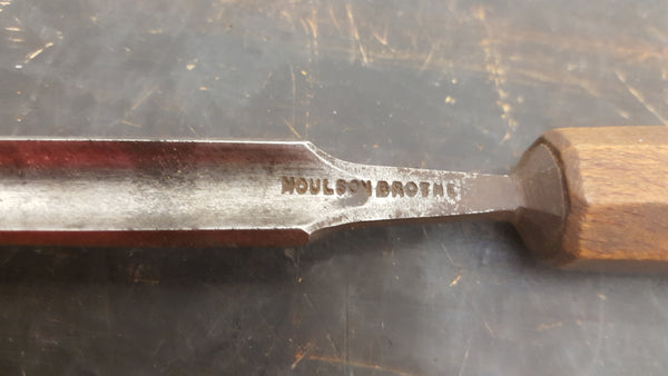 "1/2"" Vintage Moulson Brothers Gouge w #7 Sweep 28401"