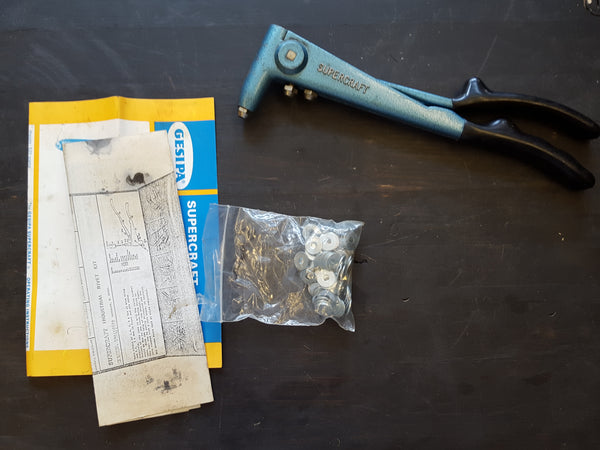 Vintage Gesipa Supercraft Rivet Kit Good Condition 28420