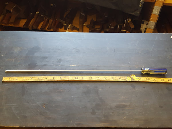 "23"" Philips Head Screwdriver w Plastic Handle 28427"