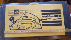 GWO Elu Hobel Set MFF80 Electric Planer In Box Good Condition 28426
