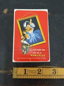 NOS Vintage Rawlplug Playing Cards 28495