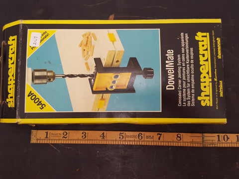 Shapecraft Dowel Mate 5400A in Box 28505