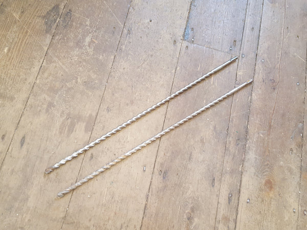 "Pair of 1/2"" Stone Drill Bits 24"" 29707"