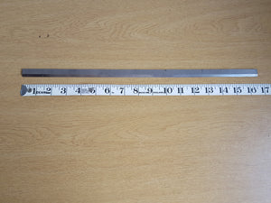 "Thin 16 1/2"" Steel Straight Edge 31569"