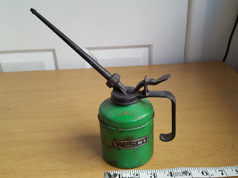 Small Green Wesco Oil Can 31603