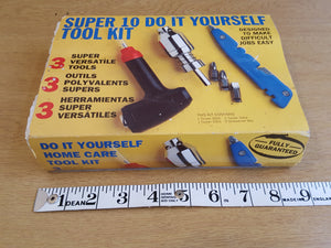 Super 10 Do It Yourself Kit Missing 1 Screwdriver Bit 31622
