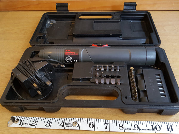 GWO 3.6v Electric Screwdriver in Case 31659
