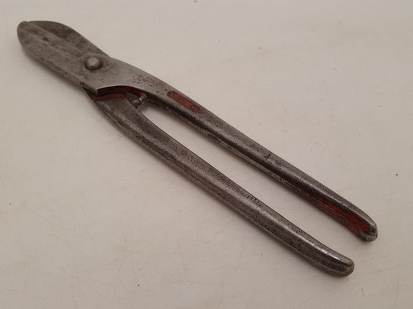"10"" Vintage Stanley No 5731 Heavy Duty Tin Snips 31862"