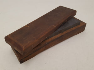 "8 x 2"" Combination Sharpening Stone in Nice Wooden Box 32632"