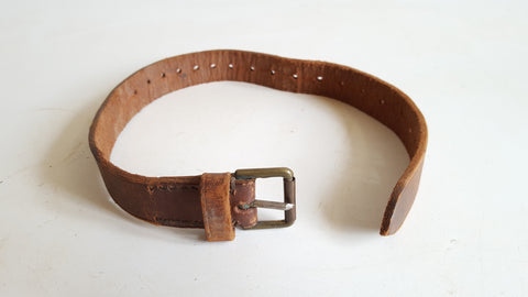 "Small 21"" Vintage Leather Belt 39165"