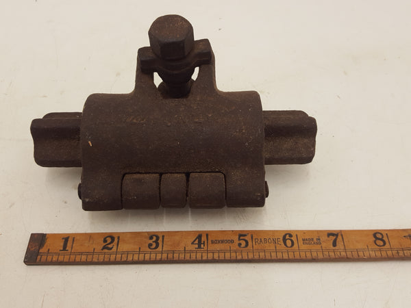 "6 1/2"" Vintage Scaffolding Joining Clamp 32693"