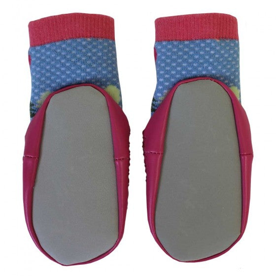 POWELL CRAFT Red Riding Hood Moccasin Slippers