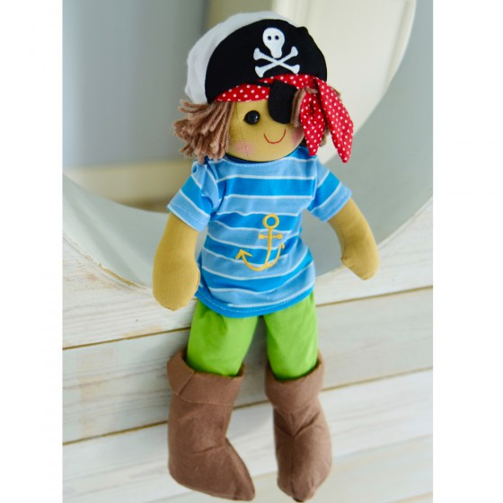 Powell Craft Pirate Rag Doll 40cm