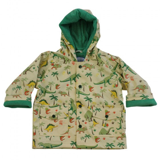Powell Craft Dinosaur Print Rain Coat