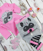 Light Pink and Grey Marl Socks 0-4 YRS