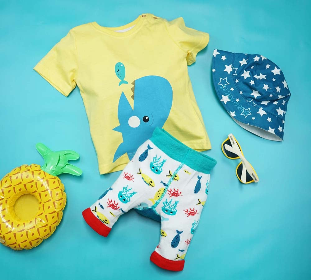 Blade and Rose Sea Life T-shirt 0-4 YRS