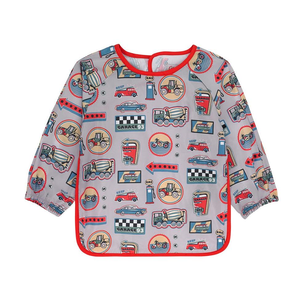 NEW Garage Station  Badges Long Sleeve Apron