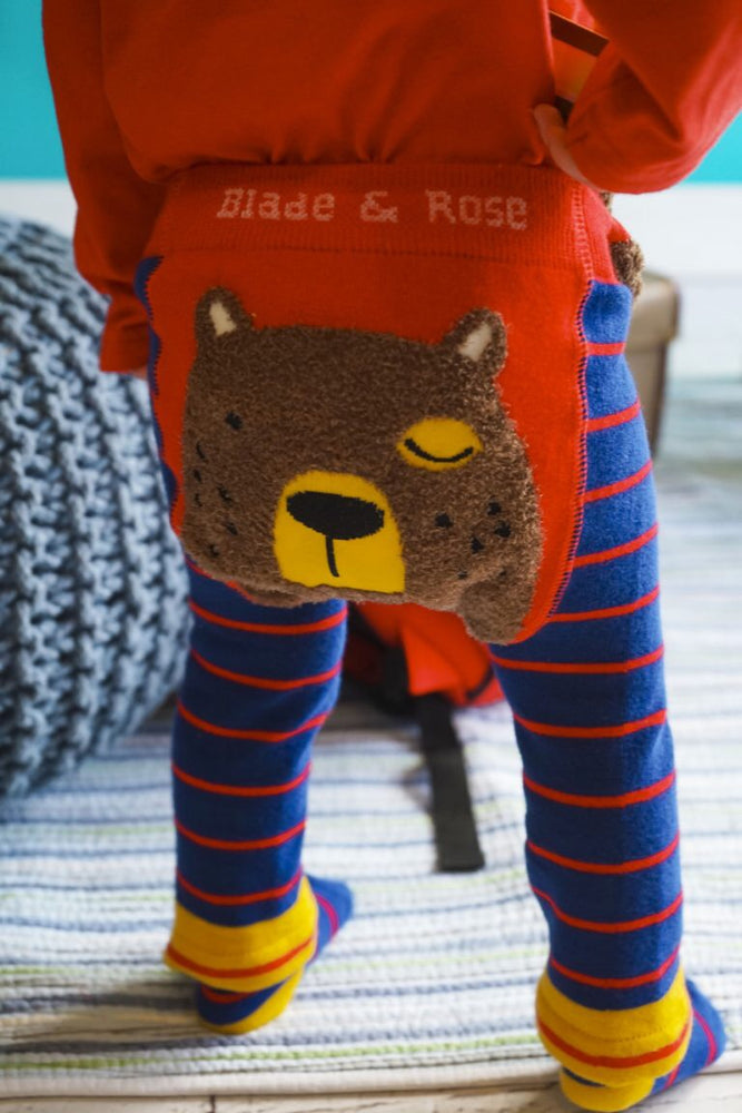 Bear Leggings 0-4 YRS