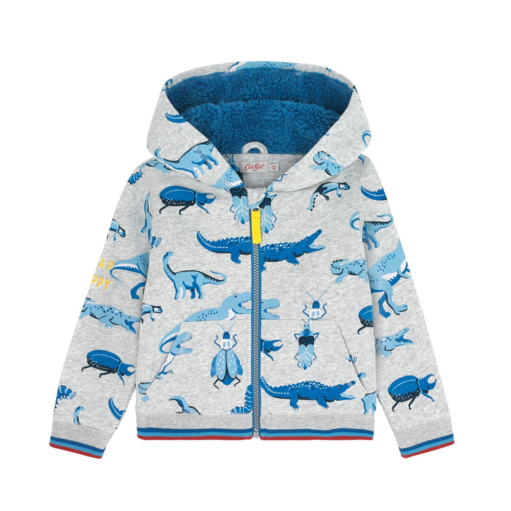 Scattered Wildlife Shadow Hoodie 1-8 YRS