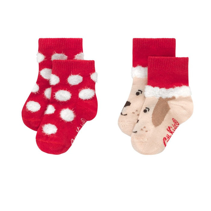 2 Pack of Baby Socks 0-24 MNTHS